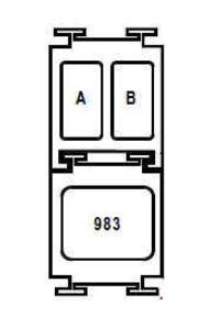 Renault Megane - fuse box diagram - F9Q
