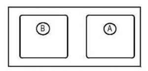 Renault Megane - fuse box diagram - passenger compartment (relay box)