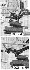 Renault Midlum - fuse box diagram - preheating relay (R93)