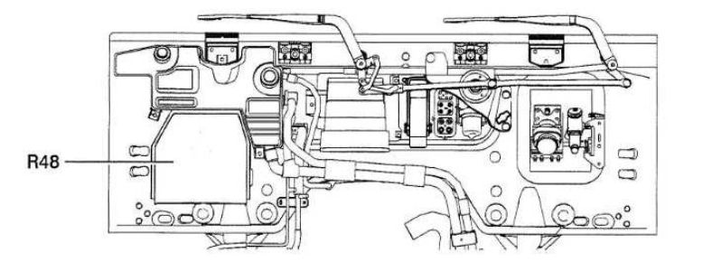 Renault Midlum  2005  - Fuse Box Diagram