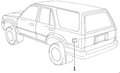 [DIAGRAM_4PO]  Toyota 4Runner (1989 - 1995) - fuse box diagram - Auto Genius | 1990 Toyota 4runner Fuse Diagram |  | Auto Genius