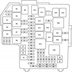 Toyota 86 - fuse box diagram - engine compartment fuse box