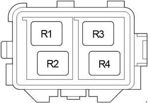 Toyota Avensis T270 2009 2017 fuse box diagram Auto
