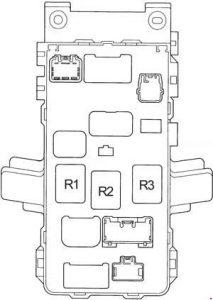 Toyota Avensis 1997 2002 fuse box diagram Auto Genius