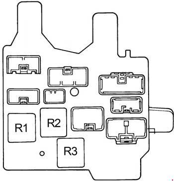 Toyota Camry (1991 - 1996) - fuse box diagram - Auto GeniusAuto Genius