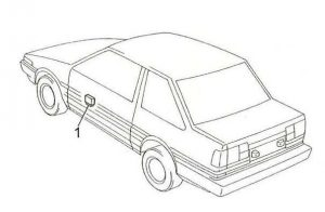 Toyota Corolla - fuse box diagram - passenger compartment fuse relay