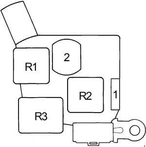 Toyota Cressida 1988 1998 fuse box diagram Auto Genius