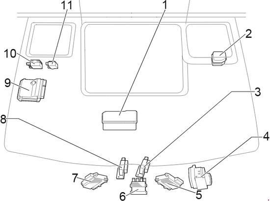 Toyota HiAce 2013 2018 fuse box diagram Auto Genius