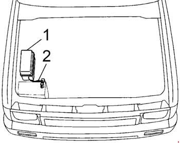 toyota hilux  1993  - fuse box diagram