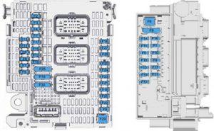 Toyota ProAcea - fuse box diagram - engine compartment (FULL)