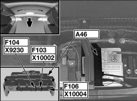 BMW 1 (E81/E82/E87/E88; 2004 - 2013) - fuse box diagram - Auto Genius