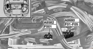 BMW 1 - fuse box diagram -N46 (118i, 120i)