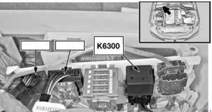 BMW 5-Series - fuse box diagram - DDE relay - N43