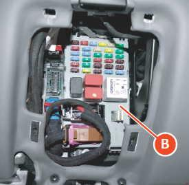 Ferrar California - fuse box diagram - body computer