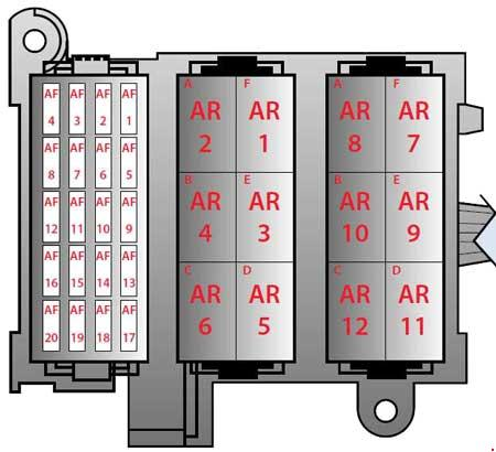 ferrari f430 fuse box diagram luggage compartment 2004 2009 kia spectra fuse box location 2003 kia spectra fuse box diagram