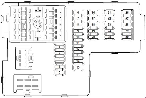Ford Explorer U152  2000 - 2006  - Fuse Box Diagram