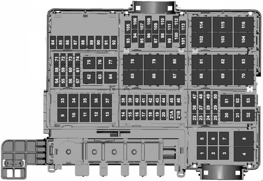 Ford F-150 (2015 - 2018) - fuse box diagram - Auto Genius on