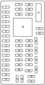 ford f 150 2009 2014 fuse box diagram auto genius. Black Bedroom Furniture Sets. Home Design Ideas