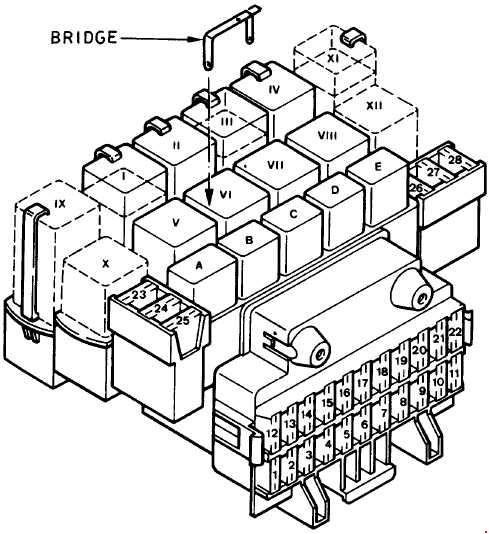Ford Fiesta 1989 1997 Fuse Box Diagram Auto Genius