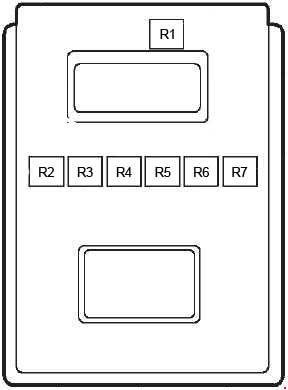 ford fiesta 1997 2002 fuse box diagram auto genius. Black Bedroom Furniture Sets. Home Design Ideas
