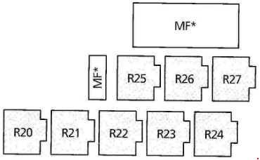 ford galaxy (1995 - 2006) - fuse box diagram - auto genius ford galaxy fuse box location
