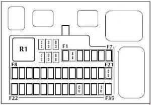 2008 jaguar s type fuse box jaguar s-type (1999 - 2008) - fuse box diagram - auto genius