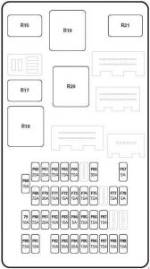 jaguar x type 2001 2003 fuse box diagram auto genius. Black Bedroom Furniture Sets. Home Design Ideas