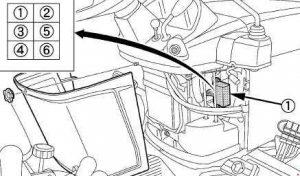 Kubota BX25DLB - fuse box diagram