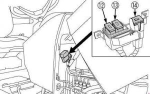 kubota tractor m7040 - fuse box diagram