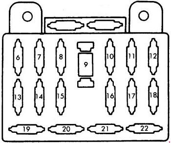 mazda b2200 1985 1998 fuse box diagram auto genius rh autogenius info