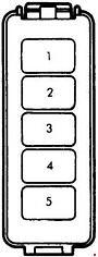 mazda b2200 (1985 - 1998) - fuse box diagram - auto genius  auto genius