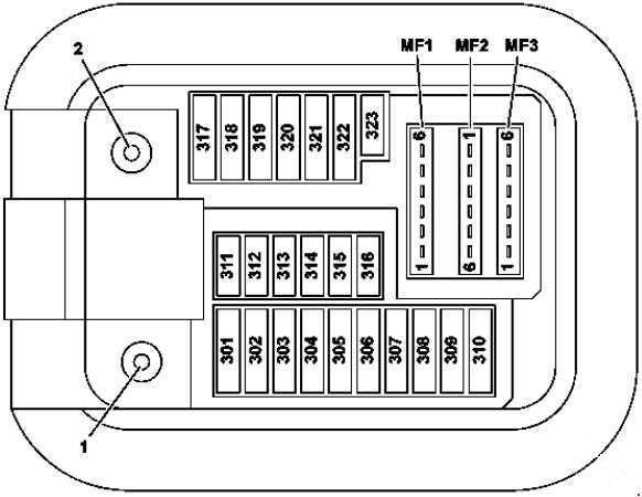 mercedes benz s class fuse box mercedes benz c class fuse box location mercedes-benz s-class (w222) (2014 - 2018) – fuse box ...