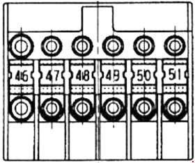 mercedes-benz vaneo - (w141) - fuse box diagram - prefuse box on