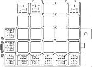 porsche boxster fuse box diagram 987 1999 porsche 996 fuse box diagram porsche boxster (986) (1996 - 2004) - fuse box diagram ... #11