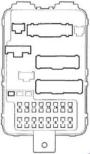 2001 acura fuse box    acura    mdx     2001    2006     fuse       box    diagram auto genius     acura    mdx     2001    2006     fuse       box    diagram auto genius
