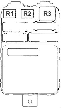 acura mdx (2001 - 2006) - fuse box diagram - auto genius acura mdx fuse box free download acura mdx fuse box 2004