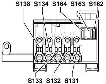 Audi A3 (8L; 1996 - 2003) - fuse box diagram - Auto GeniusAuto Genius