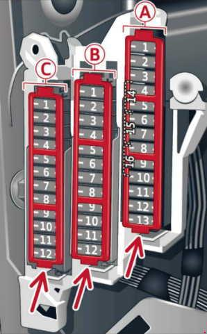 Audi A6  C7  2010  2016      fuse    box    diagram     Auto Genius