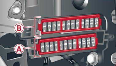 Audi A5 (2007 - 2012) - fuse box diagram - Auto Genius | Audi A5 Fuse Box Diagram |  | Auto Genius