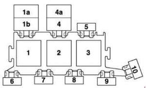 audi s6 c5 1997 2005 fuse box diagram auto genius. Black Bedroom Furniture Sets. Home Design Ideas