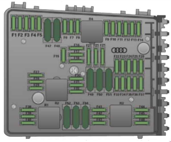 Audi tt  fuse box diagram auto genius
