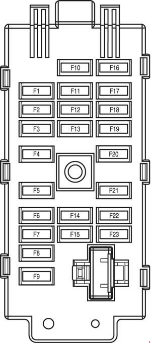 Chevrolet Evanda  2000 - 2006   U2013 Fuse Box Diagram
