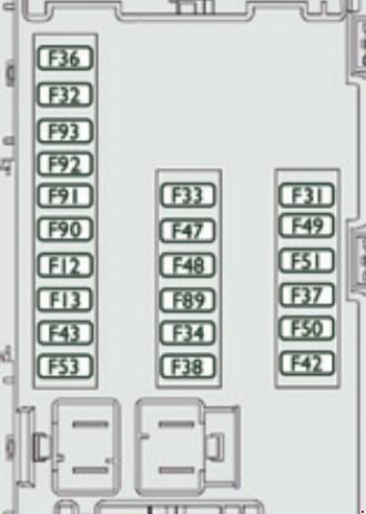citroen relay  2006 - 2014  - fuse box diagram