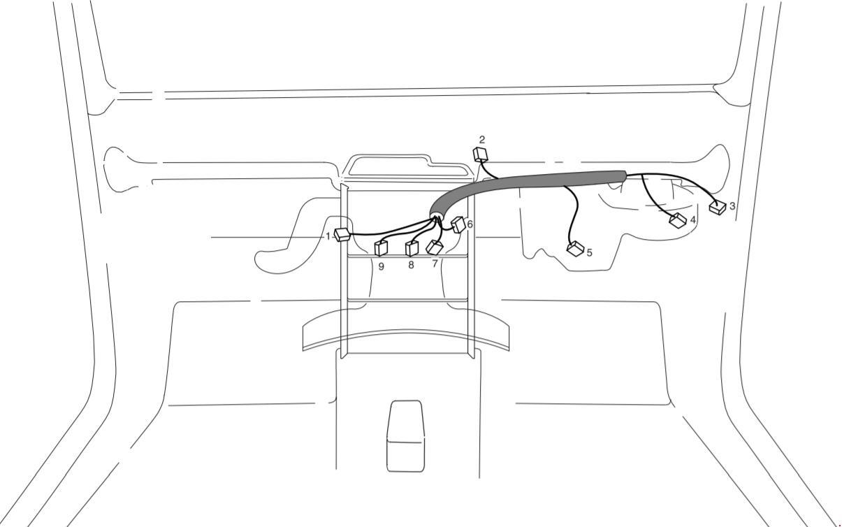 deawoo korando - fuse box diagram