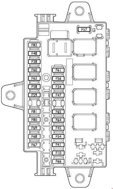 Fiat Ducato  2002 - 2006  - Fuse Box Diagram