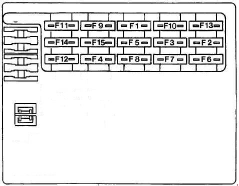 fiat marea fuse box diagram auto genius. Black Bedroom Furniture Sets. Home Design Ideas