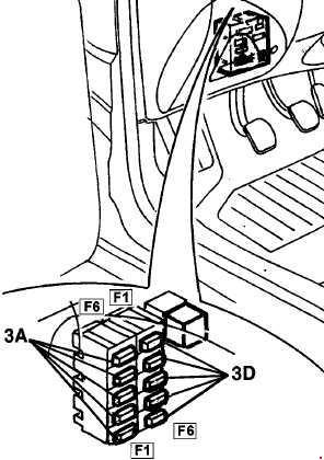 fiat marea  u2013 fuse box diagram