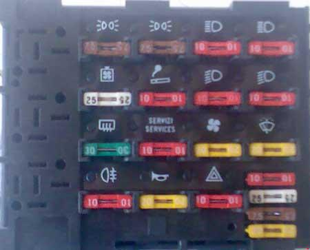 fiat uno fire 1100 fuse box the fiat car. Black Bedroom Furniture Sets. Home Design Ideas