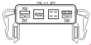 ford f-150 (2004 - 2008) - fuse box diagram - auto genius 2004 ford f 150 fuse box relays