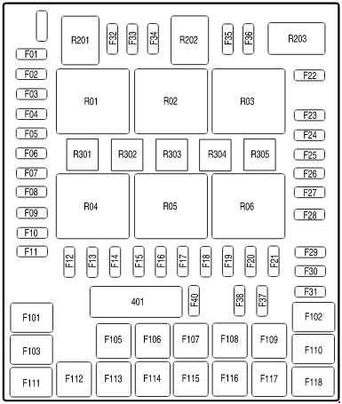 2007 ford f150 fuse diagram ford f-150 (2004 - 2008) - fuse box diagram - auto genius 2001 ford f150 fuse diagram #13